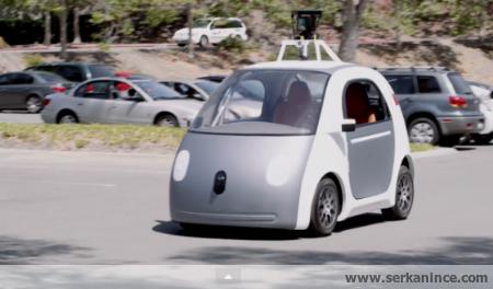 google insansız araç