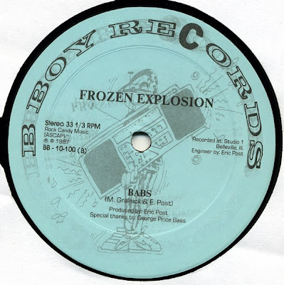 "Frozen Explosion – Iwo Jima / Babs – 12"" – 1987"