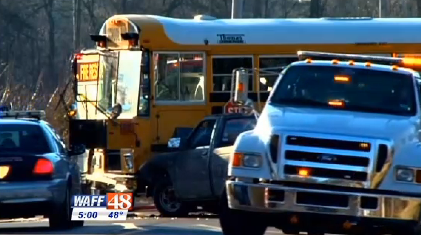 Alabama limestone county capshaw - 2 Students Taken To Hospital After Limestone Co School Bus Wreck In Alabama