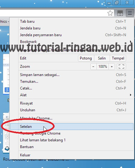 Cara Setting Proxy di Google Chrome