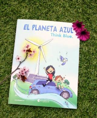 llibre infantil el planeta azul portada