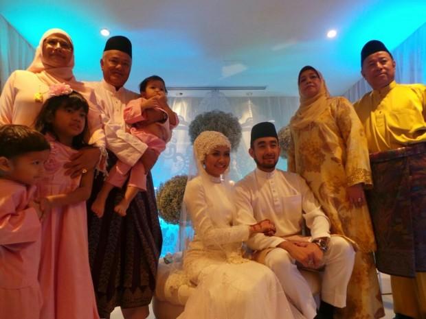 Dengan dua kali lafaz, pasangan Liyana Jasmay, 25, dan Fathuddin
