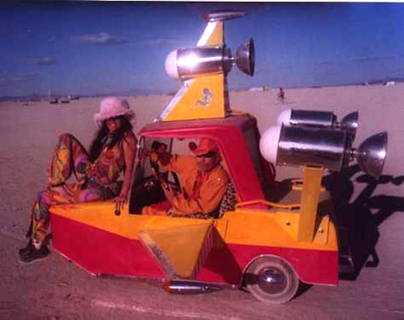 Pimp My Rocket - Burning Man Mutant Vehicle - For Sale