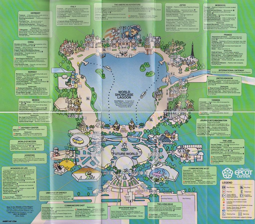 Angry AP - Disneyland and Walt Disney World nostalgia: Epcot Center ...