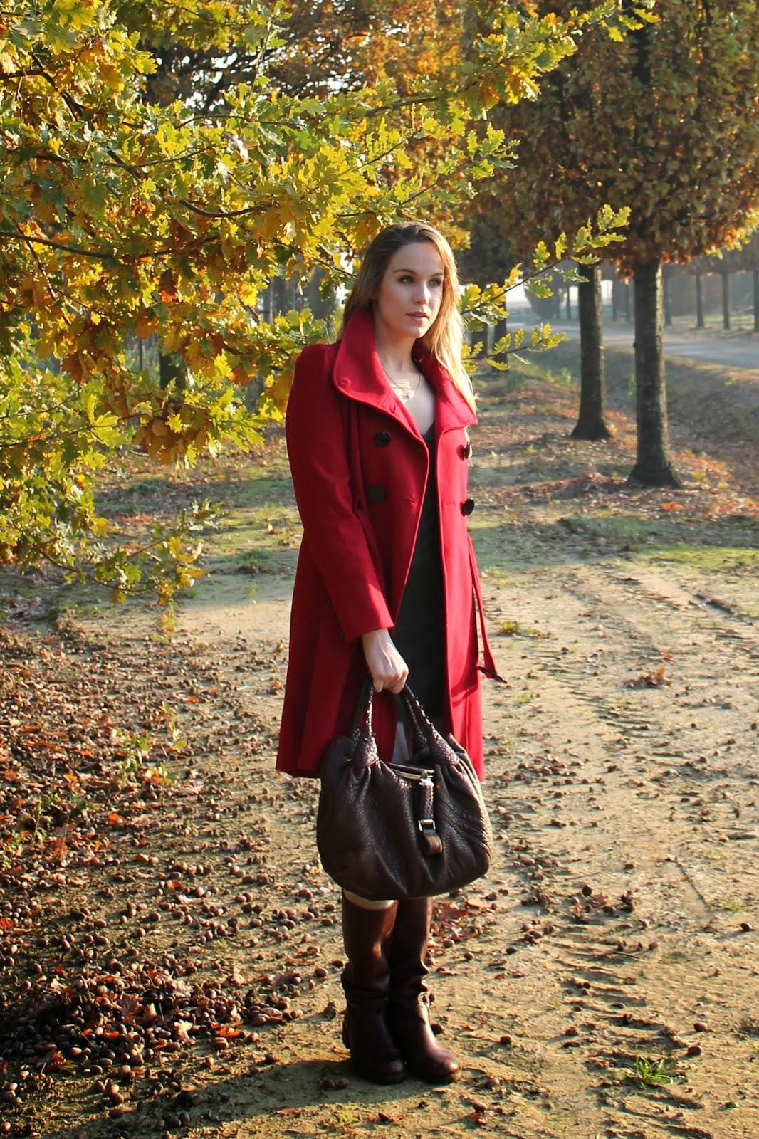 winter fashion red
