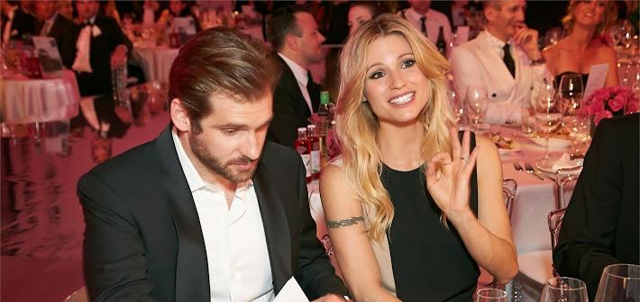 Michelle e Tomaso sorridenti a Vienna