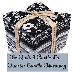 Why Not Sew?: The Quilted Castle Riley Blake Tuxedo FQ Bundle ... : quilted castle - Adamdwight.com