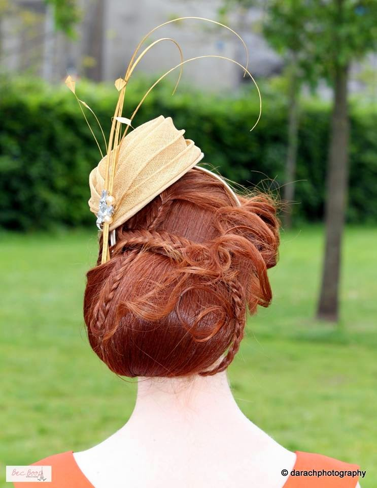 galway races  hairstyle