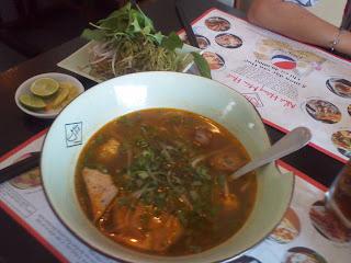 Bun bo Hue. Prato do Vietnã