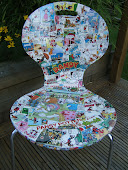 Beano Decoupage chairs