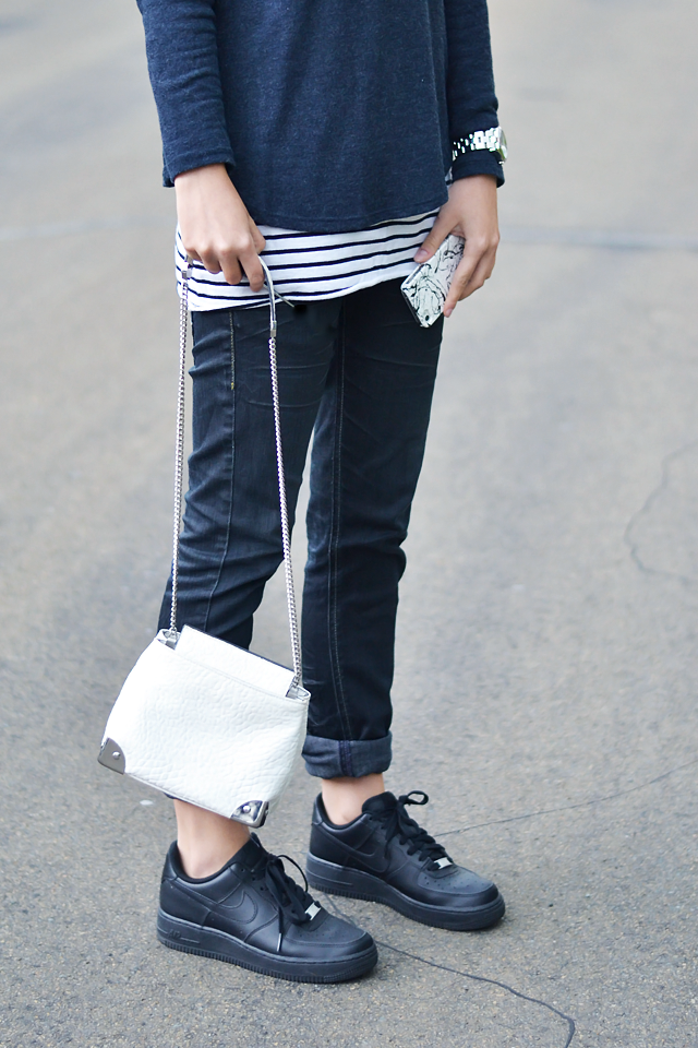 Turn it inside out: Striped layer