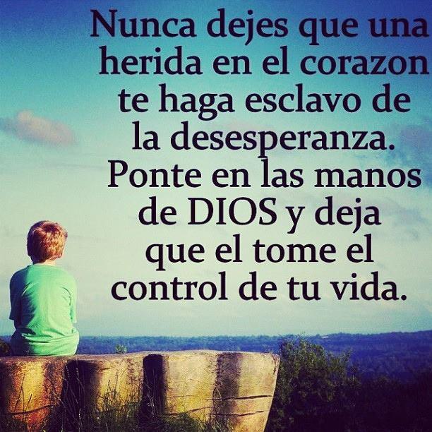deja que Dios te guíe