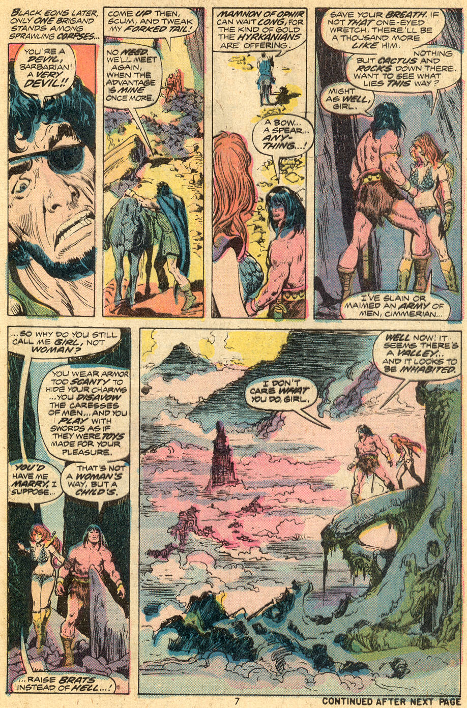 Conan the Barbarian (1970) Issue #43 #55 - English 6