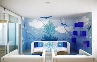 gambar+ruang+tamu+warna+biru Desain Ruang Tamu Biru Langit
