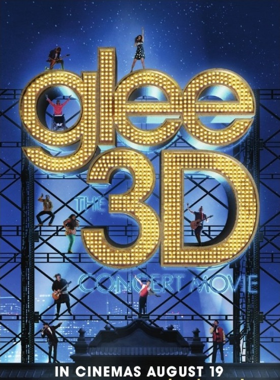 Glee the 3d concert movie poster download