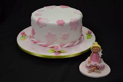 Fairy figurine cake class.