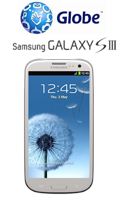 Samsung Galaxy SIII is also coming to Globe!