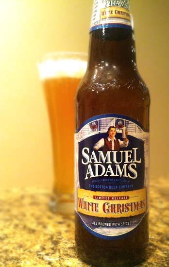 samuel adams white christmas ale - White Christmas Sam Adams