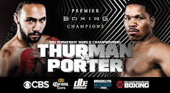 Who wins Thurman vs. Porter Saturday Night in Brooklyn, New York on CBS Prime Time Television?