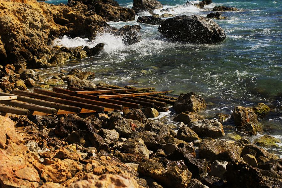 beach nautre waves