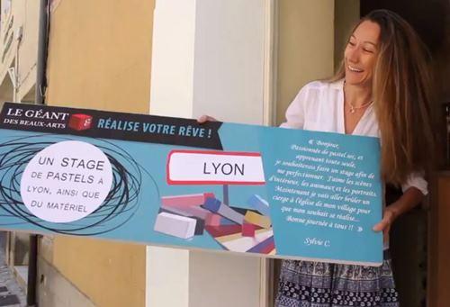 Stage de pastel offert par Le Géant des Beaux Arts en juin 2012 !