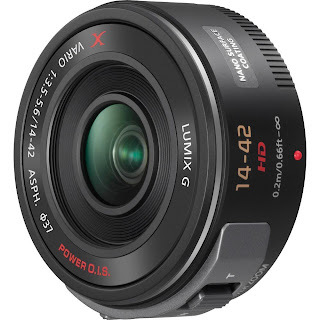 Panasonic Lumix G X Vario PZ 14-42mm/F3.5-5.6 Lens black