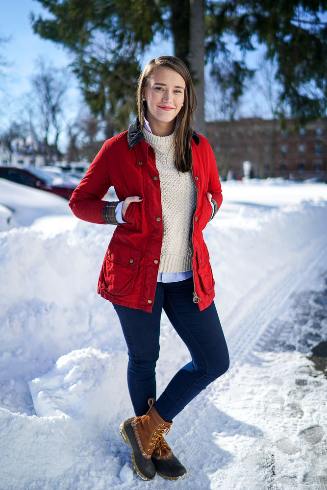 Preppy Winter Fashion With Barbour And Ll Bean New York City Fashion And Lifestyle Blog