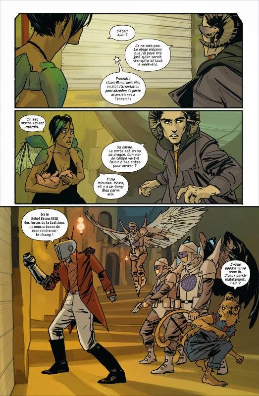 Saga T1: Un bestiaire important et des personnages à tête d'écran