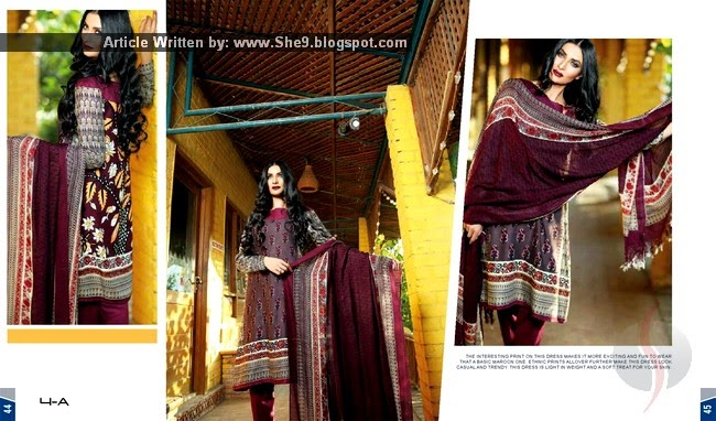 Maheen Hussain Winter Collection 2014