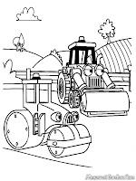 Bob The Builder Akan Memperbaiki Jalan Yang Rusak Dengan Mesin Giling