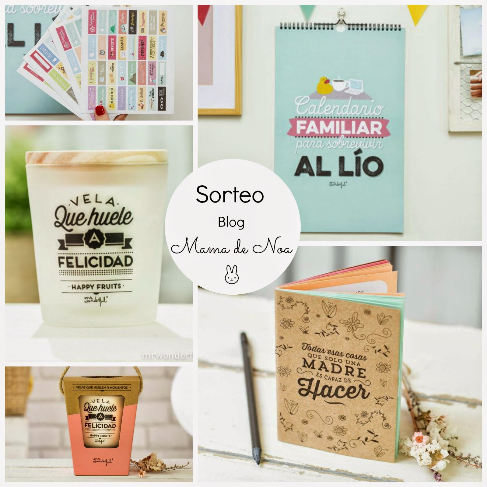 sorteo mr wonderful blog infantil mama de noa