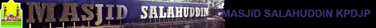 Masjid Salahuddin KPDJP