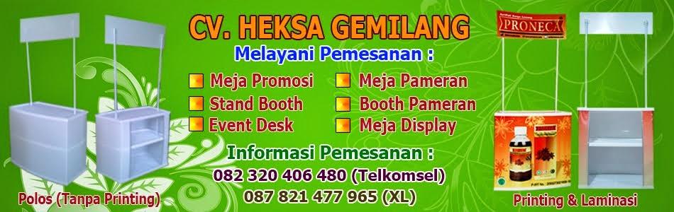 Meja Display Bandung, Event Desk Bandung, Booth Pameran Bandung, Kontraktor Stand Booth Pameran