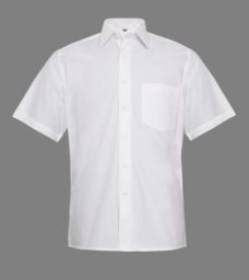 Shopclues : Men's Cotton Half Sleeve White Formal Shirt at Rs.103 : Buy To Earn
