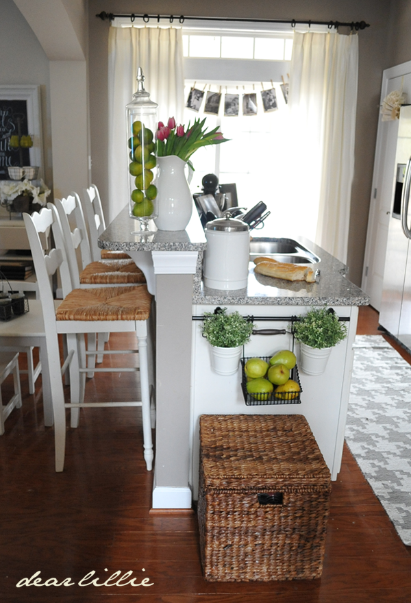 dear lillie our kitchen. Black Bedroom Furniture Sets. Home Design Ideas
