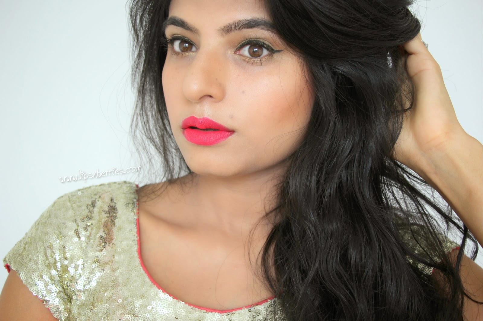 MAC relentlessly red on Indian skin