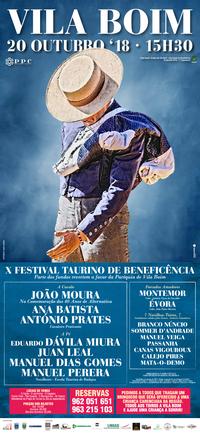 Vila Boim- X Festival Taurino 2018
