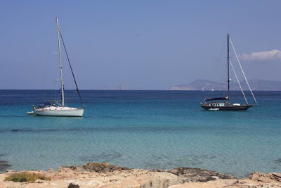 Es Vedrà and Ibiza from Formentera