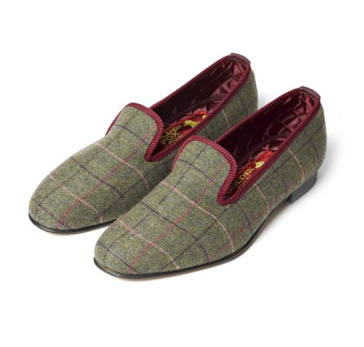 SLIPPERS DE TWEED THE MERCHANT FOX
