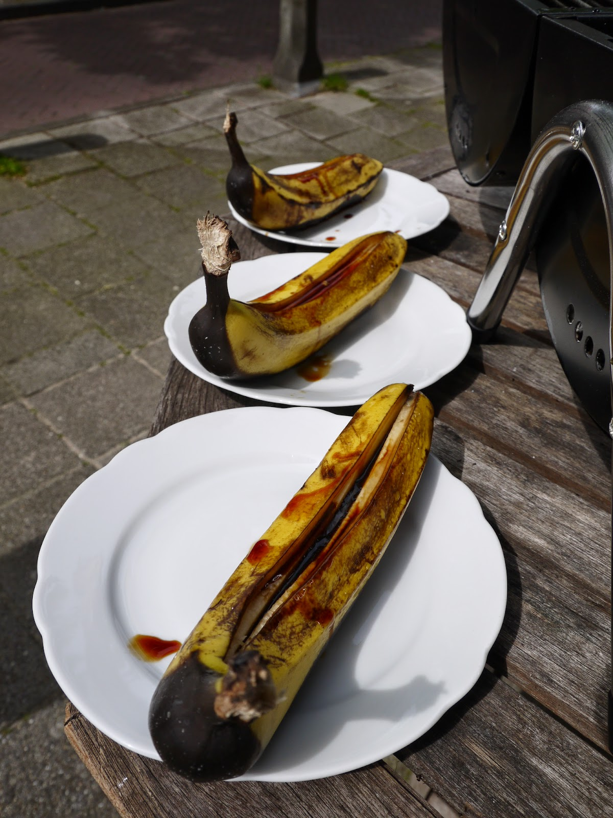Surprising grilled bananas recipe by Appetit Voyage