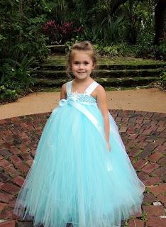 Tutu dress frozen elsa cantik warna biru untuk anak perempuan