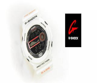 jam tangan keren GSHOCK GA-150 WHITE