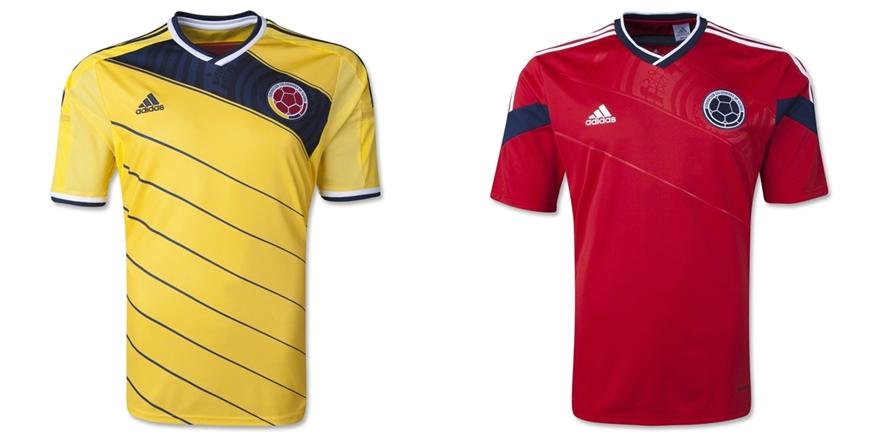 Kolombia - Jersey Grade Ori Piala Dunia 2014