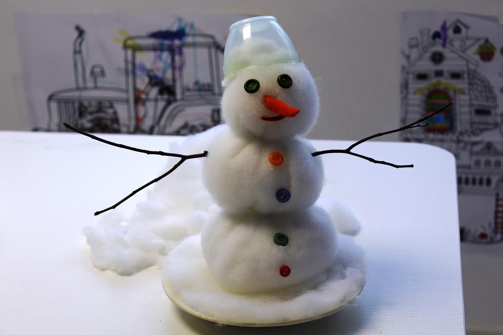 Лепим снеговиков из снега своими руками 900