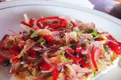 resep praktis dan mudah membuat sambal matah spesial khas bali pedas, enak, lezat