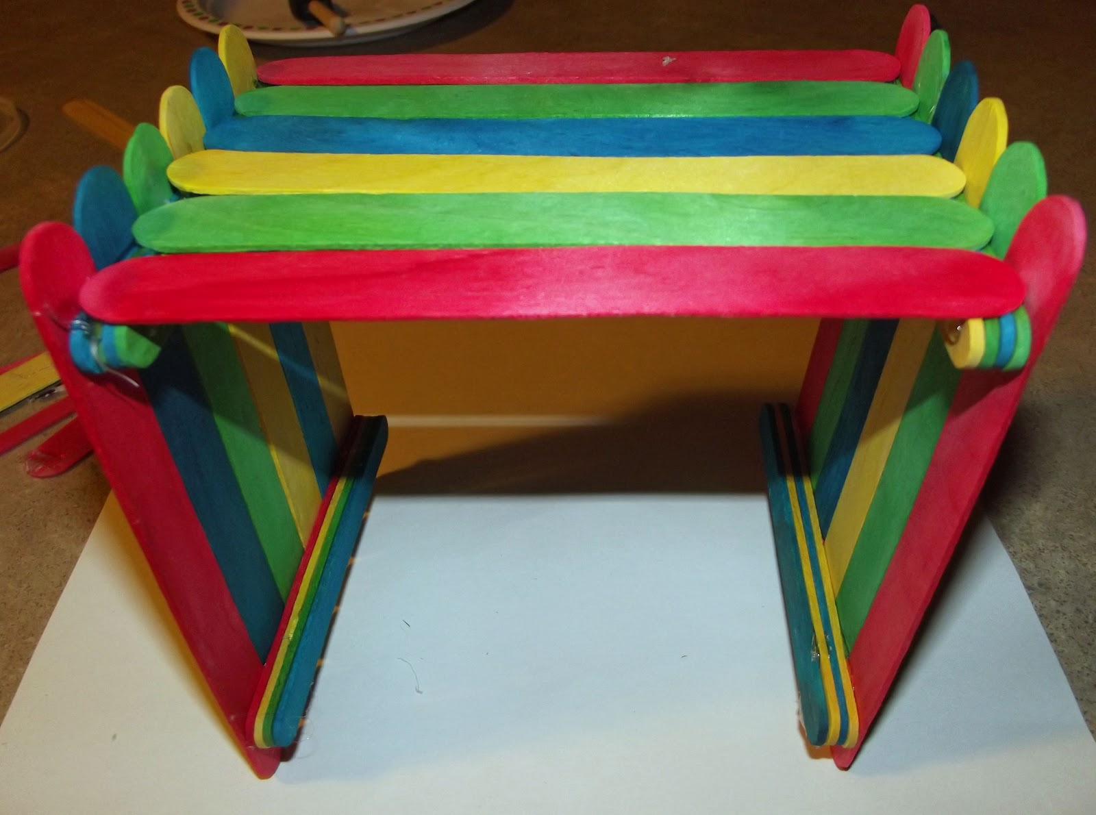 how to make a birdhouse with popsicle sticks
