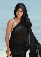 Samantha Black Saree Hot Photos43