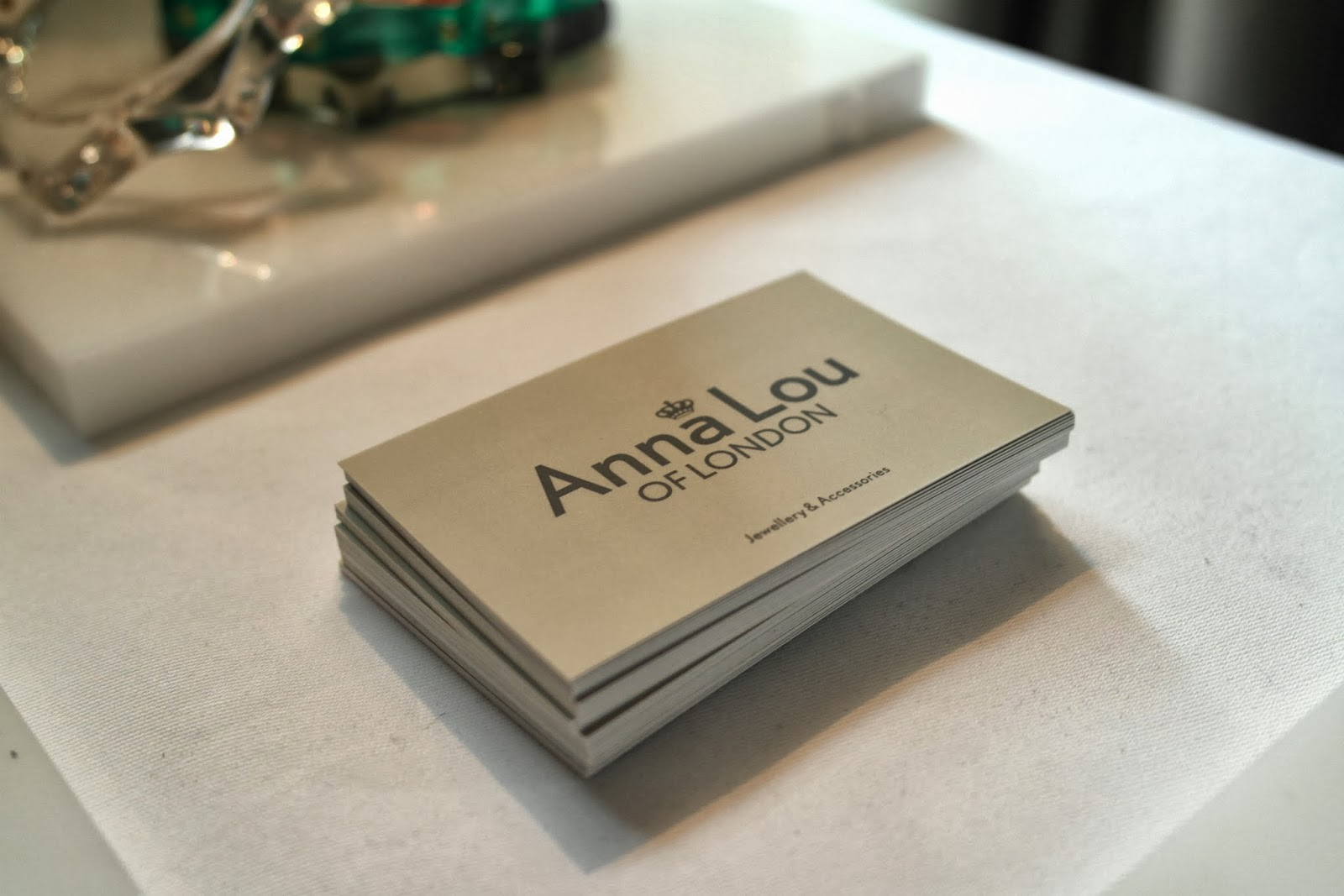 Anna Lou of London jewellery