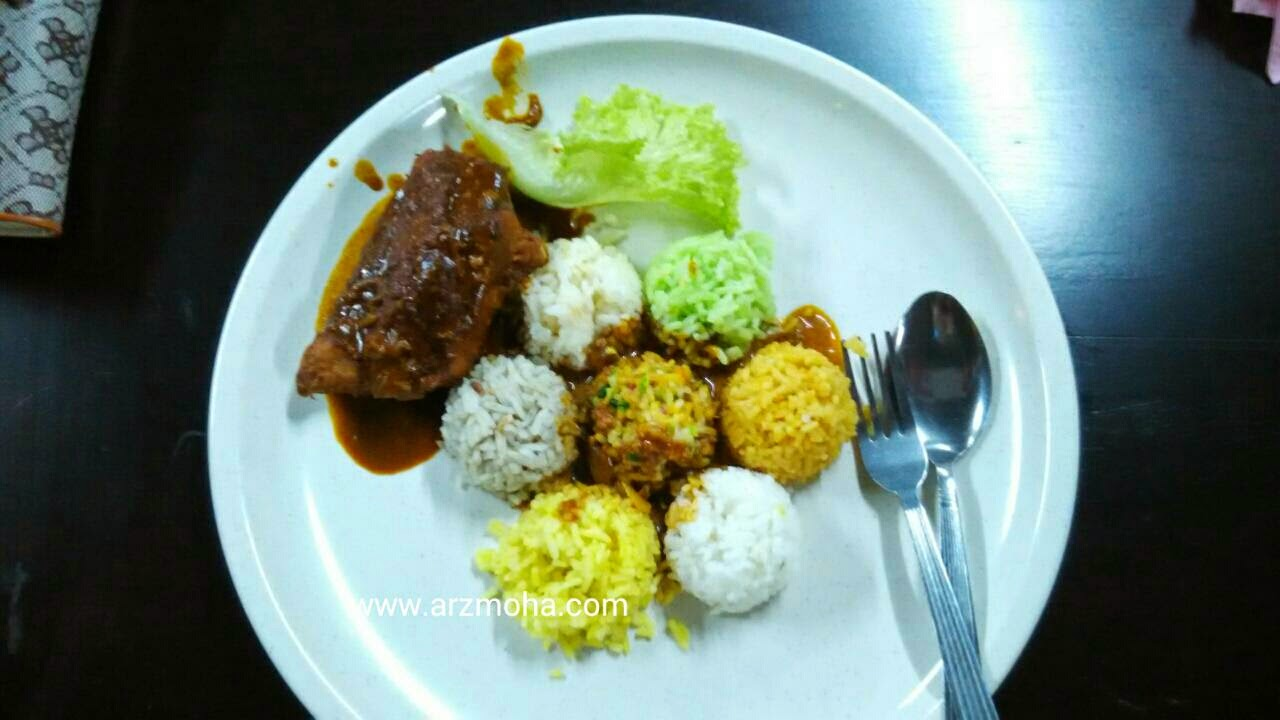 Nasi 7 Benua, awesome food, penang, sungai ara, arzmoha, penang blogger, blogger malaysia,