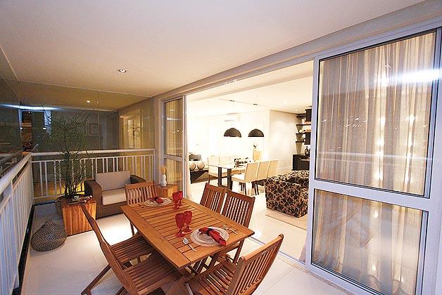 Construindo Minha Casa Clean: Varandas/Sacadas Integradas as Salas ...